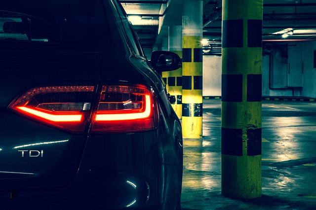 System zajętości miejsc parkingowych